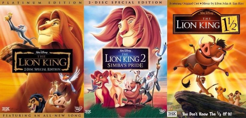 The Lion King movies