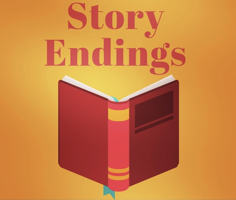 "Episode 56 — Story Endings + ""The End"" – Storytelling Saga"